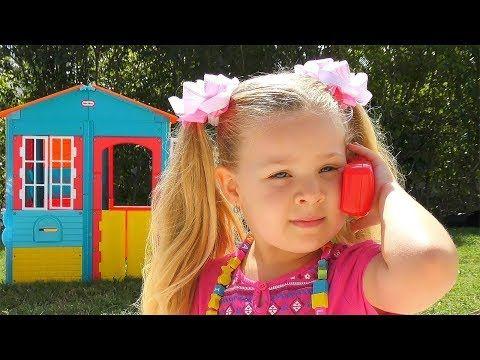 Roma E Diana Andam De Carrinho E Brincam Com Cachorrinhos De Brinquedo Youtube Best Kids Toys Diana Kids Pretend Play