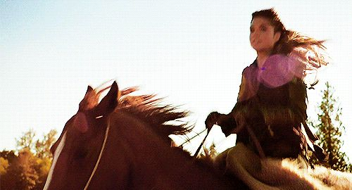 Image result for lady riding horse gif