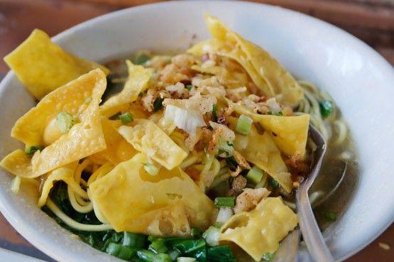 Resep Mie Pangsit Jakarta Yang Enak Bikinnya Mudah Pangsit Resep Resep Makanan