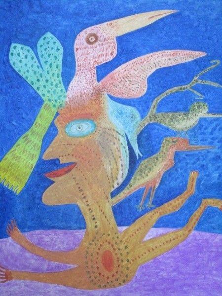 Victor Brauner, La Mère des Oiseaux (The Mother of Birds), 1965