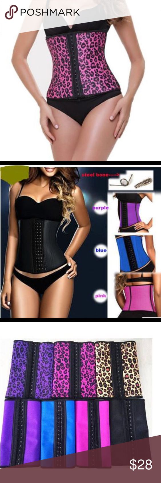 PINK ANIMAL PRINT STEEL BONED LATEX WAIST TRAINER FUNCTION: KEEP INCREASING BLOOD FLOW  PROMOTING WEIGHT LOSS. YES. Our latex waist trainer will provide a heat promoting environment for your body to increase your blood flow. It will promote your WEIGHT LOSS whenever in workout or working. the vest matching cinchers are better for your weight loss plan. FULLY STAND BY OUR CORSETS: We accept FULL REFUND if our waist cinchers with quality problem absolutely. And simply EXCHANGE in size. A…