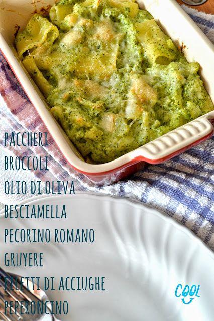 Cucina di Barbara: food blog - blog di cucina: Ricetta paccheri con broccoli gratinati