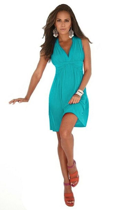 Sleeveless Full Back Summer Sundress. Wear this during summer and you'll love the attention you will receive because of this dress. You will feel so sexy and beautiful! -Fit: Regular USA women's sizing.   eBay!