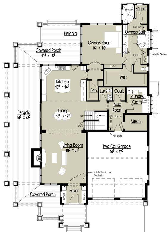 Floor plans floors and saunas on pinterest for Sauna layouts floor plans