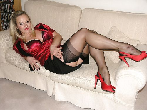 Stockings Leg Job 70