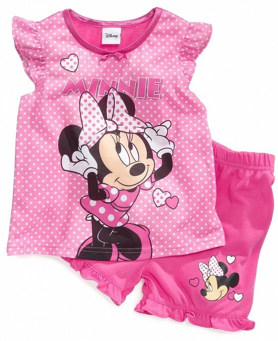Minnie mouse, Pajamas and Toddler girls on Pinterest