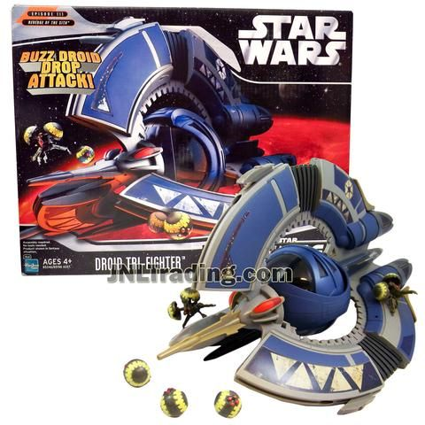 BUZZ DROID Star Wars Episode 3 Revenge of Sith from Droid Tri-Fighter Set