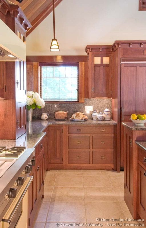 Craftsman Kitchen Design Mesmerizing Craftsman Kitchen Crownpoint Kitchendesignideas 2018