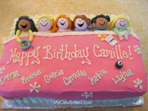 Sleepover cake would be cute for little girls party, don't have any girls so here is to all my girl having followers