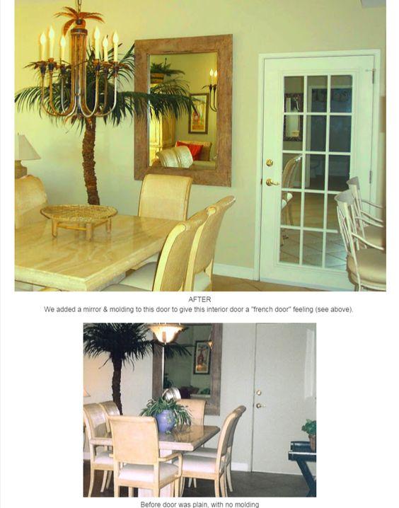 greensboro nc interior designers - Interior doors, design ideas, door molding, french door look ...