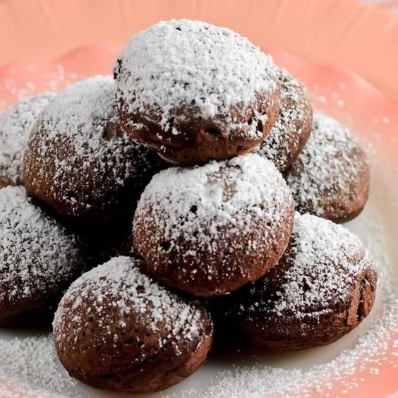 Mexican Chocolate ebelskivers, yumm!