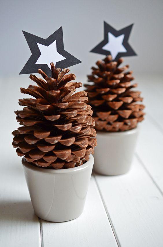 Tannenzapfen f r weihnachtsdeko mkg pinterest last - Weihnachtsdeko mit tannenzapfen ...