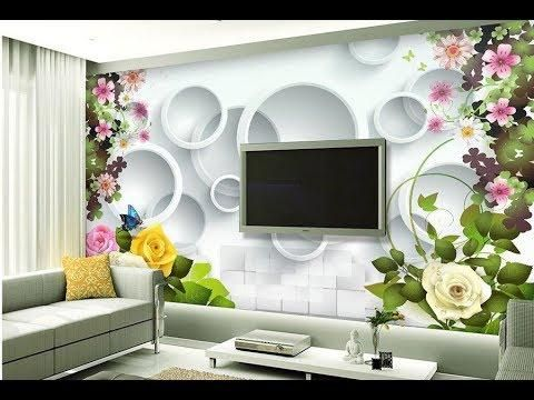 Wallpaper Design For Living Room Home Decoration Ideas 2018 Part 2 Ide Dekorasi Rumah Desain Dekorasi Rumah
