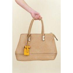 Reddress // Holding the Dream Bag-Taupe - $52.00