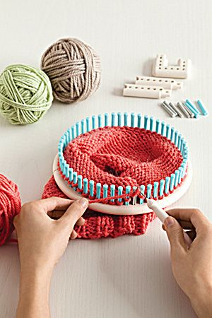 where to find resources for loom knitting and weaving