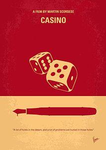 No348 My Casino Minimal Movie Poster Poster by Chungkong Art