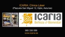 Desde hace semanas contamos con un nuevo Centro #Icaria en #Gijón. En la misma Plazuela de San Miguel, nos hemos mudado del número 11 al 12 a un local más grande para poder ofreceros las mejores instalaciones adaptadas a las necesidades de los nuevos servicios láser (Plazuela San Miguel, 12, 33202 Gijón, Asturias. Tfno 985 330 089) www.icaria.es http://youtu.be/tctLn3xxi6U?list=UUt9x5jbeJ18o_w62TOw-nzw