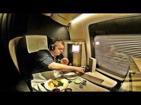 British Airways First Class Flight Boeing 777 200 Houston To London Youtube First Class Flights British Airways Boeing 777