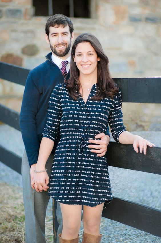 Spring time navy engagement photos at historic Whitehall Manor in Bluemont, VA | Kelly Ewell Photography