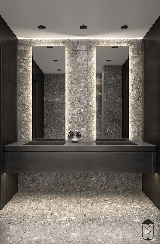 Modern Architecture Not Only Symbolize Country S Aesthetic But Also Regard As A Country S Social Civ Bathroom Mirror Bathroom Design Amazing Bathrooms