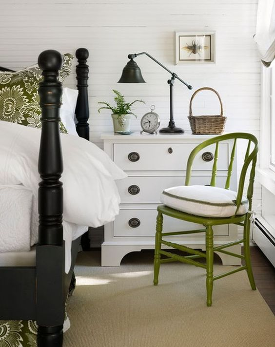 How To Design A Room Around A Black Bed Bedroom Night Stands Traditional Bedroom Home