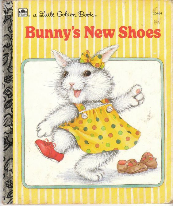 Bunny's New Shoes, a Little Golden Book
