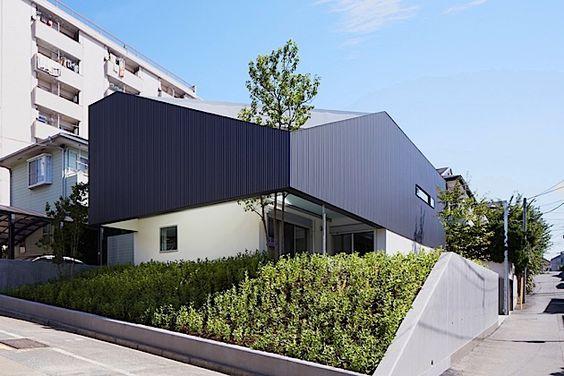 Architektur: Ein Wohnhaus mit integriertem Baum