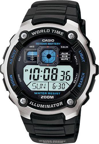 Casio - Multifunctional Digital Sport Watch - Black
