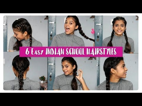 6 Easy Hairstyles For Indian Schools Back To School Hairstyles Quick And Easy A Back To School Hairstyles School Hairstyles For Teens Hairstyles For School