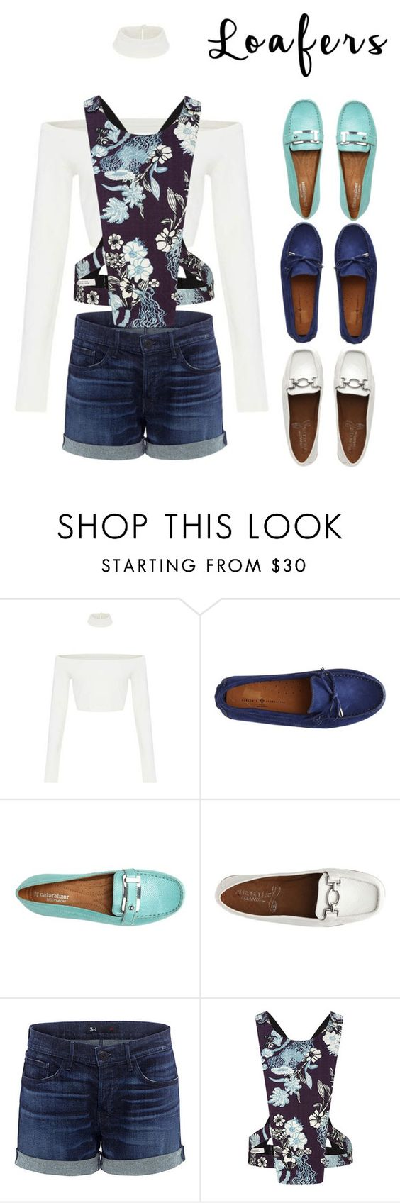 """""""Loafer: a blue autumn"""" by carolycia on Polyvore featuring moda, 3x1 y Dorothee Schumacher"""
