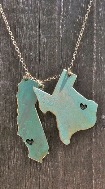 Live & Love 2 State Necklace