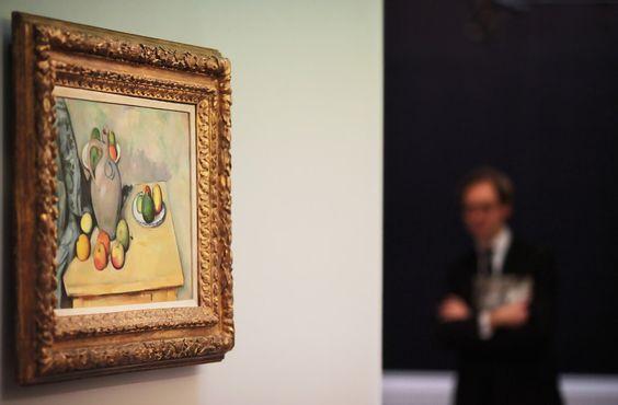 Импресиониста и модерних Ремек Због на аукцији На Сотхебис - Слике - Зимбио