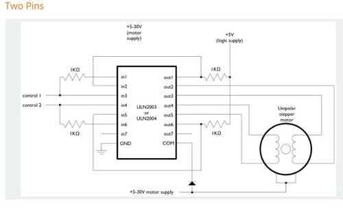 ULN2003 Stepper Motor Driver Module for Arduino DC 12V 28BYJ-48 Stepper Motor