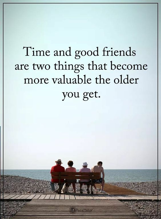 to time and friends