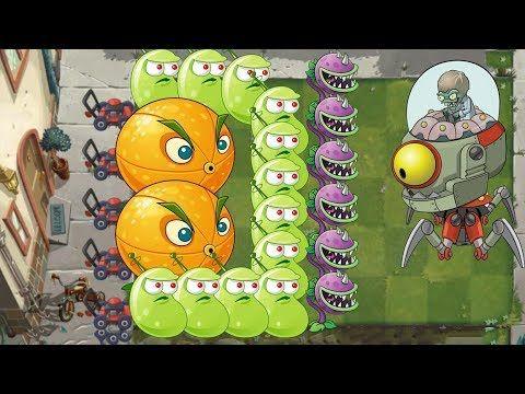 Plants Vs Zombies 2 Citron Laser Bean Vs All Dr Zombot Plants Vs Zombies Moon Flower Zombie 2