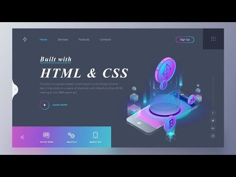 Responsive Our Service Section Design With Html Css And Bootstrap Website Design Tutorial Website Design Design Tutorials