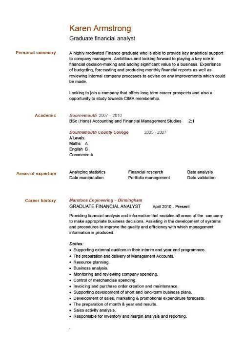 A Good Cv Template Job Resume Samples Standard Cv Good Cv