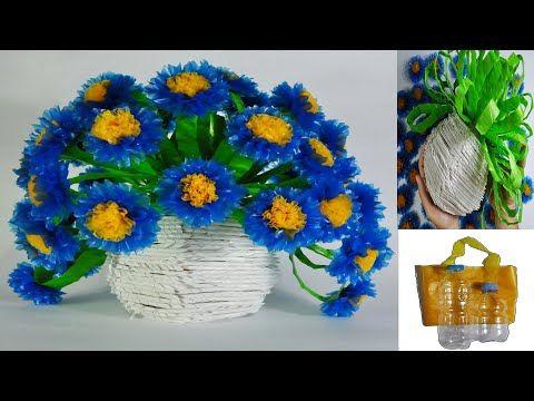 Cara Membuat Bunga Krisan Dari Kantong Plastik Kresek Dan Botol