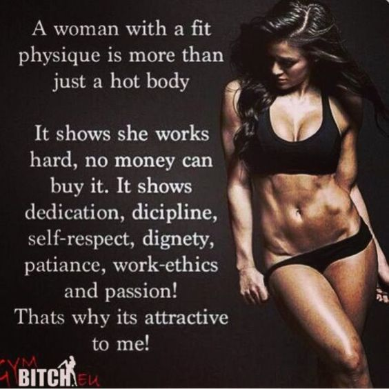 Best Female Fitness Motivation Pictures | A Woman with Fit Body is More than Just a Hot Body ...