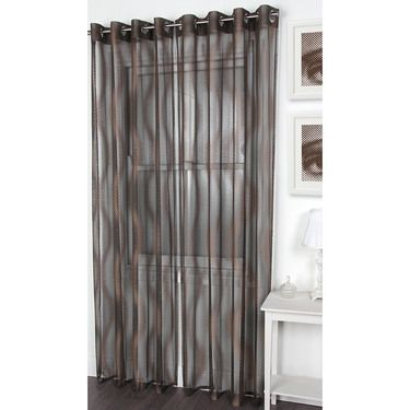 Curtains Ideas black sheer curtain : Black & bronze sheer Caprice Tyler Eyelet Curtains | Caprice ...
