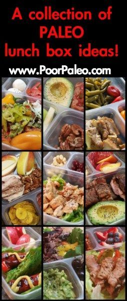 Adult Paleo Lunch Box Ideas!