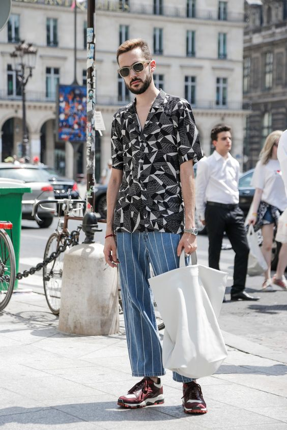 海外メンズ柄シャツコーデStreetwear | Team Peter Stigter, catwalk show, streetwear and fashion photography - Part 18