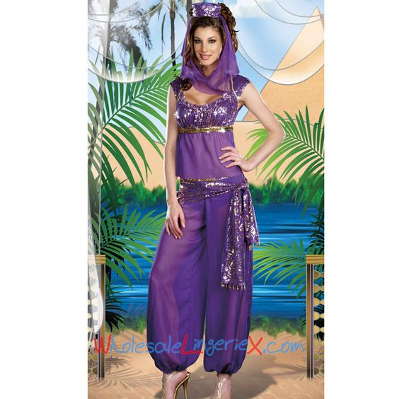Wholesale Sexy Genie of the Lamp Fancy Dress Costume CGD557 [CGD557] - $12.20 : LingeriePark