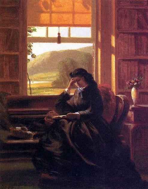 Women Reading - thomerama: John Ferguson Weir