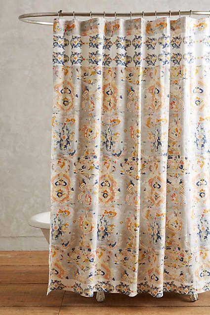 anthropologie tender falls shower curtain orissa shower curtain shower