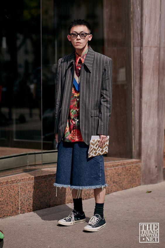 オールスター海外メンズコーデThe Best Street Style from Paris Men's Fashion Week S/S 2020