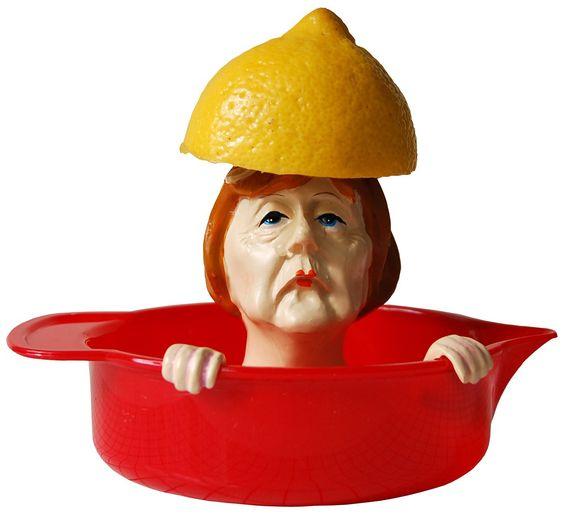 Citruspresse Zitronenpresse Angie rot Saftpresse: Amazon.de: Küche & Haushalt #geschenk #present #gift #surprise #birthday #angelamerkel #zitronenpresse #limonade #gag #zitrone