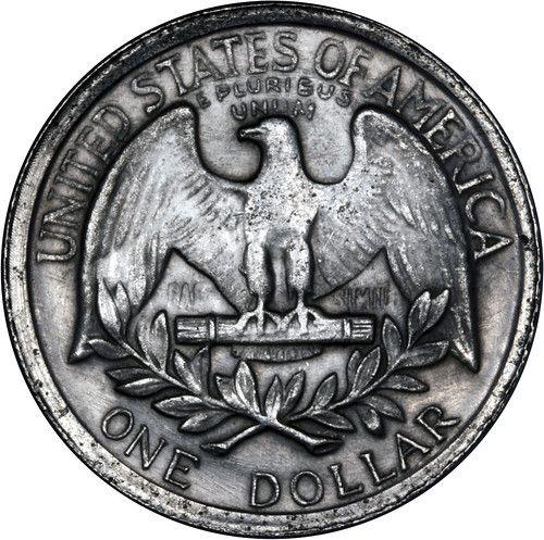 1865 Fake Usa Silver Dollar 1 Reverse In 2020