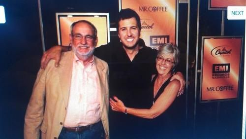 Image result for luke bryan parents