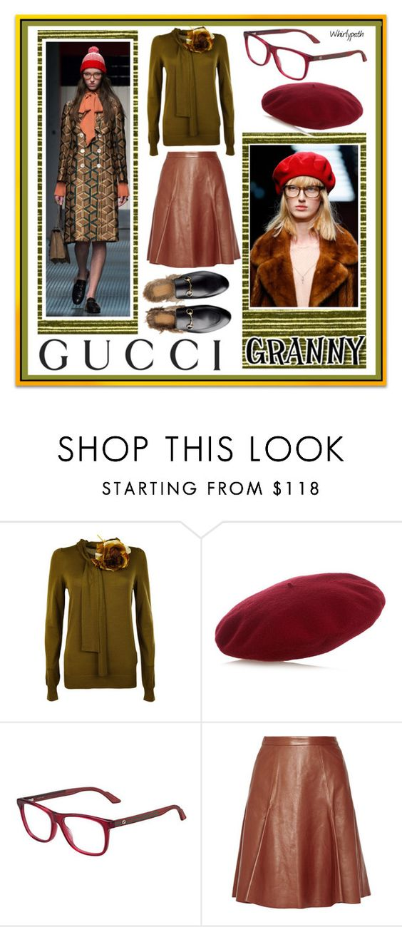 """""""Gucci Granny!"""" by whirlypath ❤ liked on Polyvore featuring Gucci"""